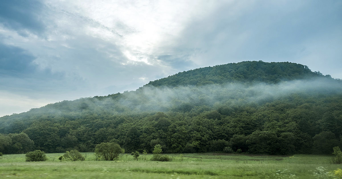 утро в горах - Лариса Батурова