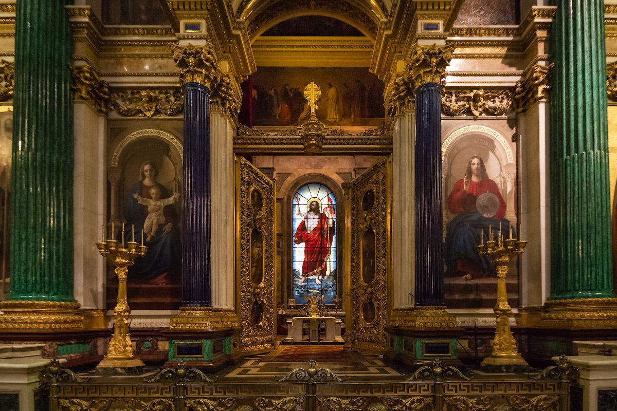 Виртуальный тур по Исаакиевскому собору - ГМП