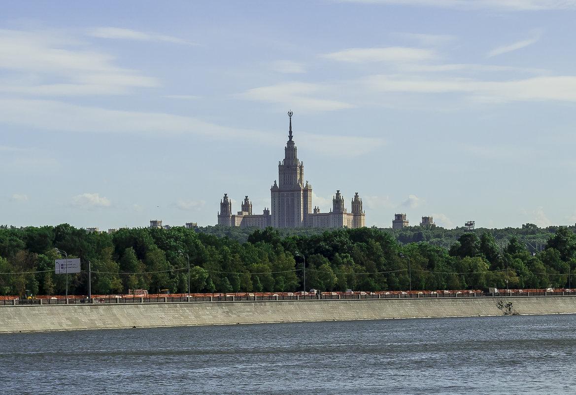 вид с другой стороны Москвы-реки - Галина Кубарева