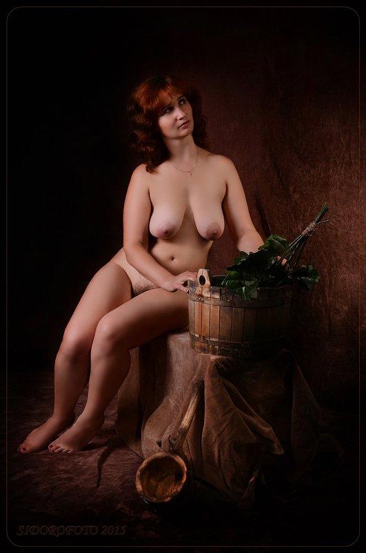 Старое доброе ретро пышки в бане
