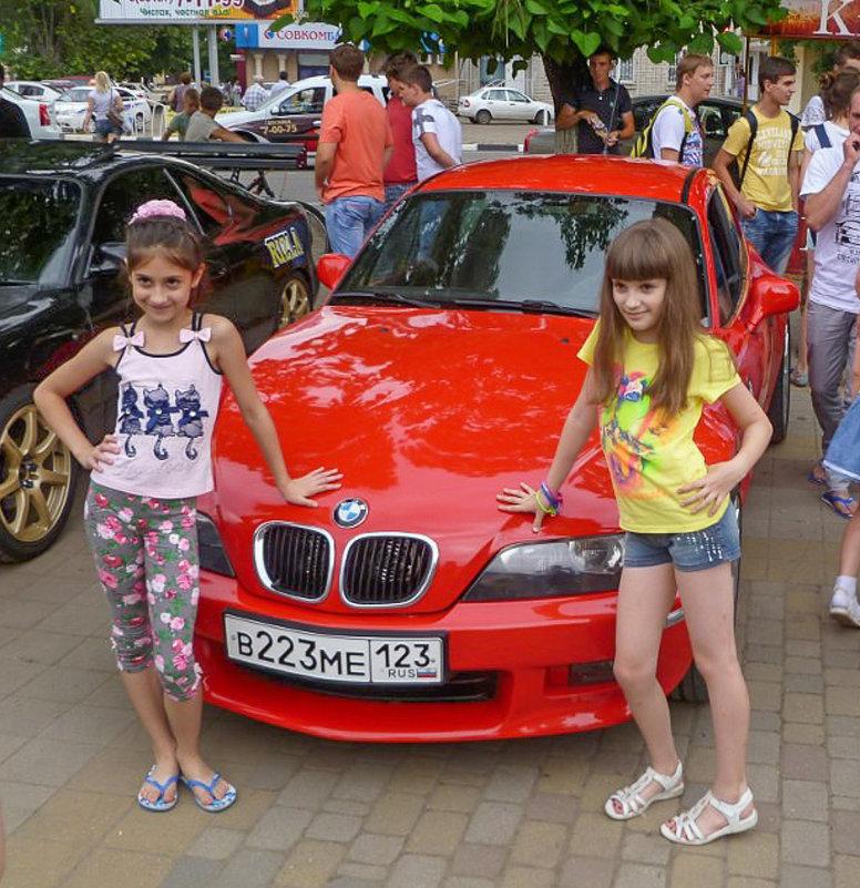 Юные модели... - Юлия Бабитко