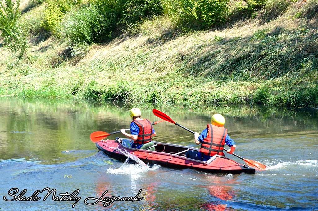 Турслёт 2015 на берегу реки Лугань - Наталья (ShadeNataly) Мельник