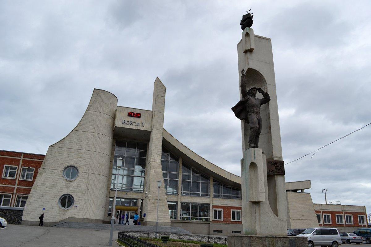 Вокзал в Северобайкальске - Ольга