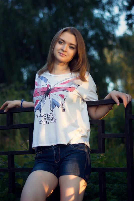 летний вечер - Александра Сучкова