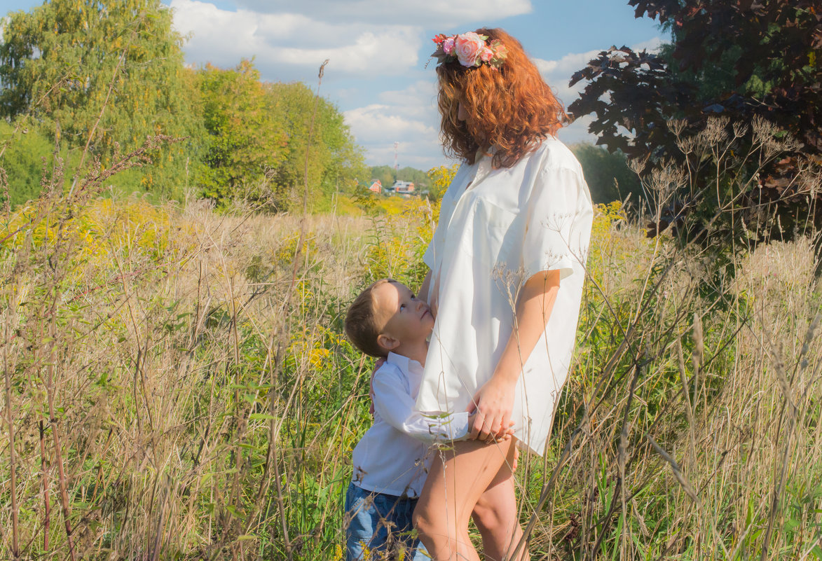 Ожидание вместе с мамой - Татьяна Мордвинова