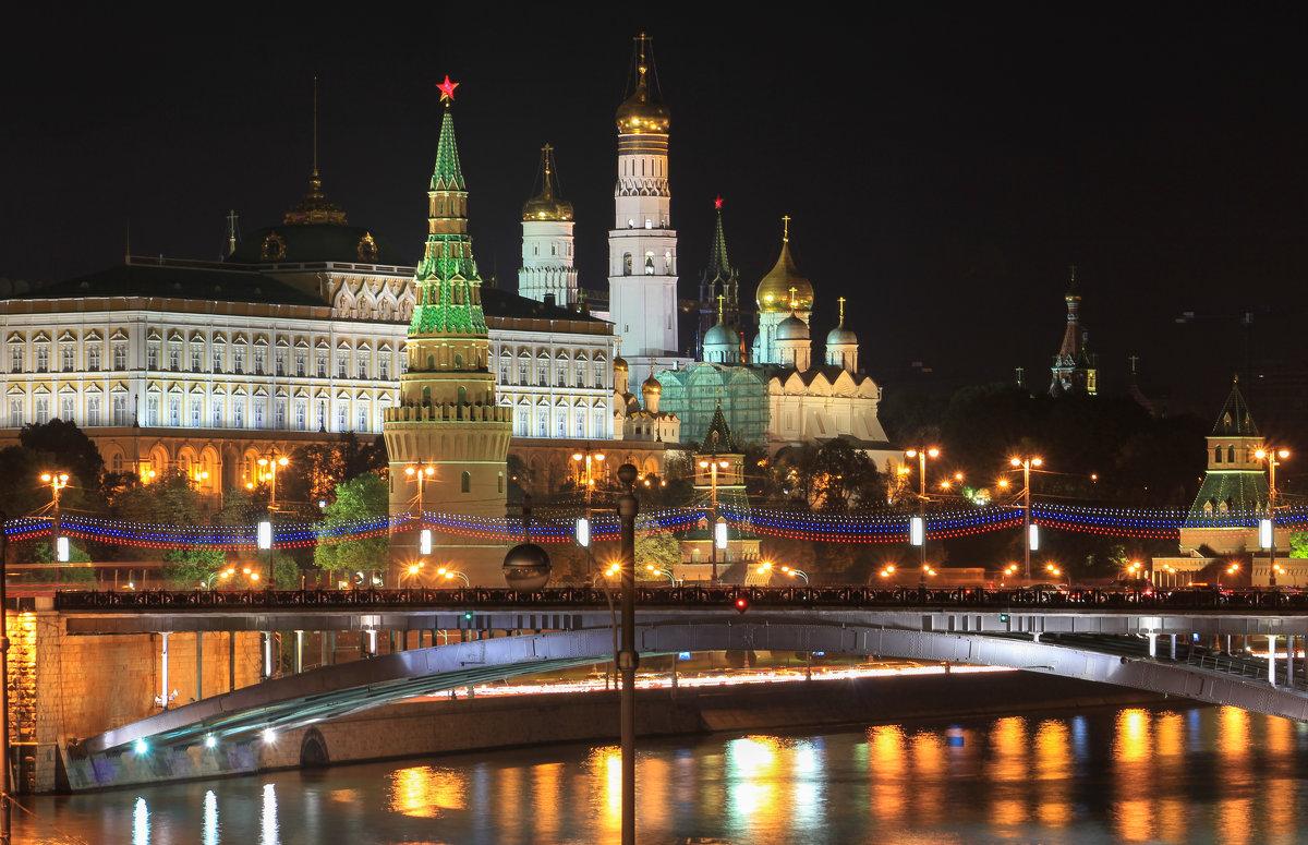 кремль фото ночной