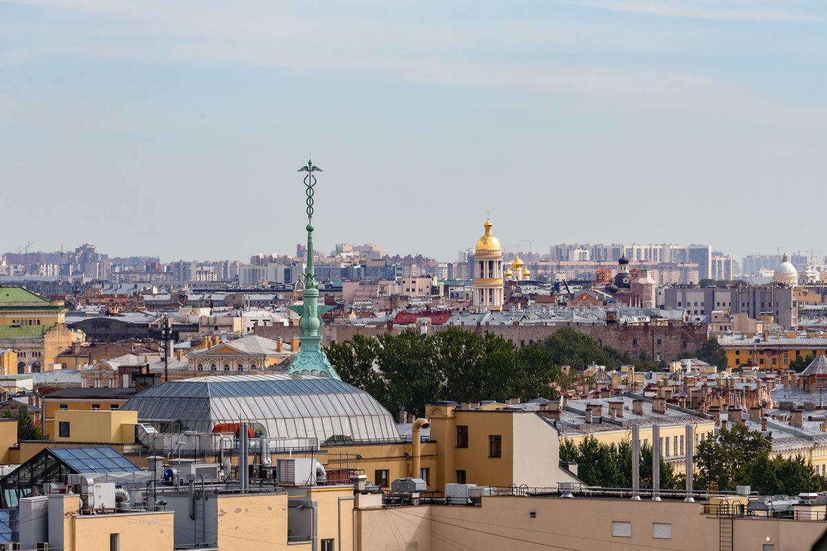 На крышах Санкт-Петербурга (5) - Николай Николенко