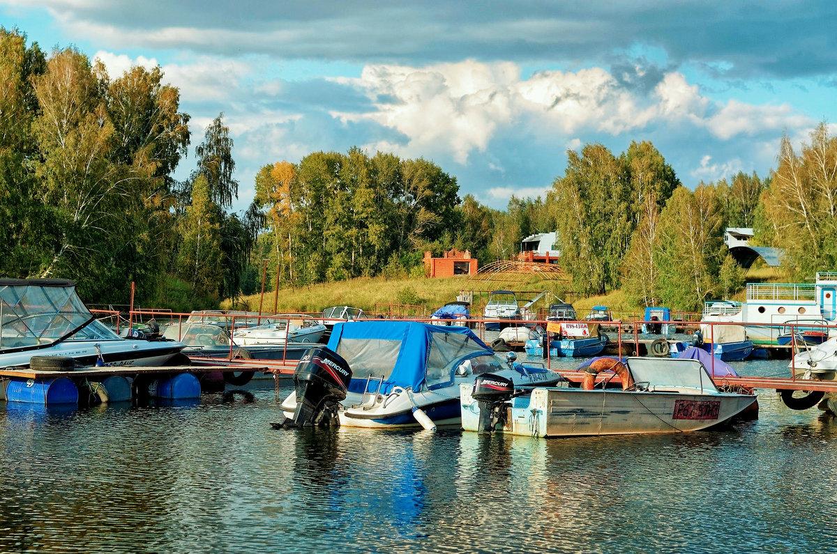 место на лодочной базе в новосибирске