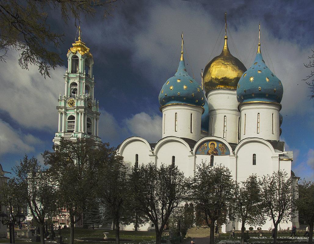 Успенский собор и колокольня Троице-Сергиевой Лавры - Игорь Егоров