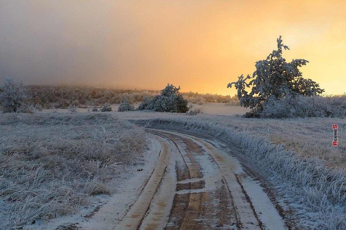 Морозное утро - Сергей Радин