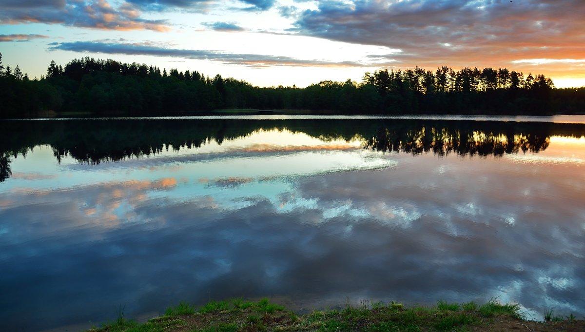 Утро. (Валдай. Озеро Петрово.) - kolin marsh