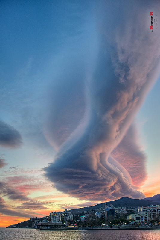 Необычные облака - Сергей Радин