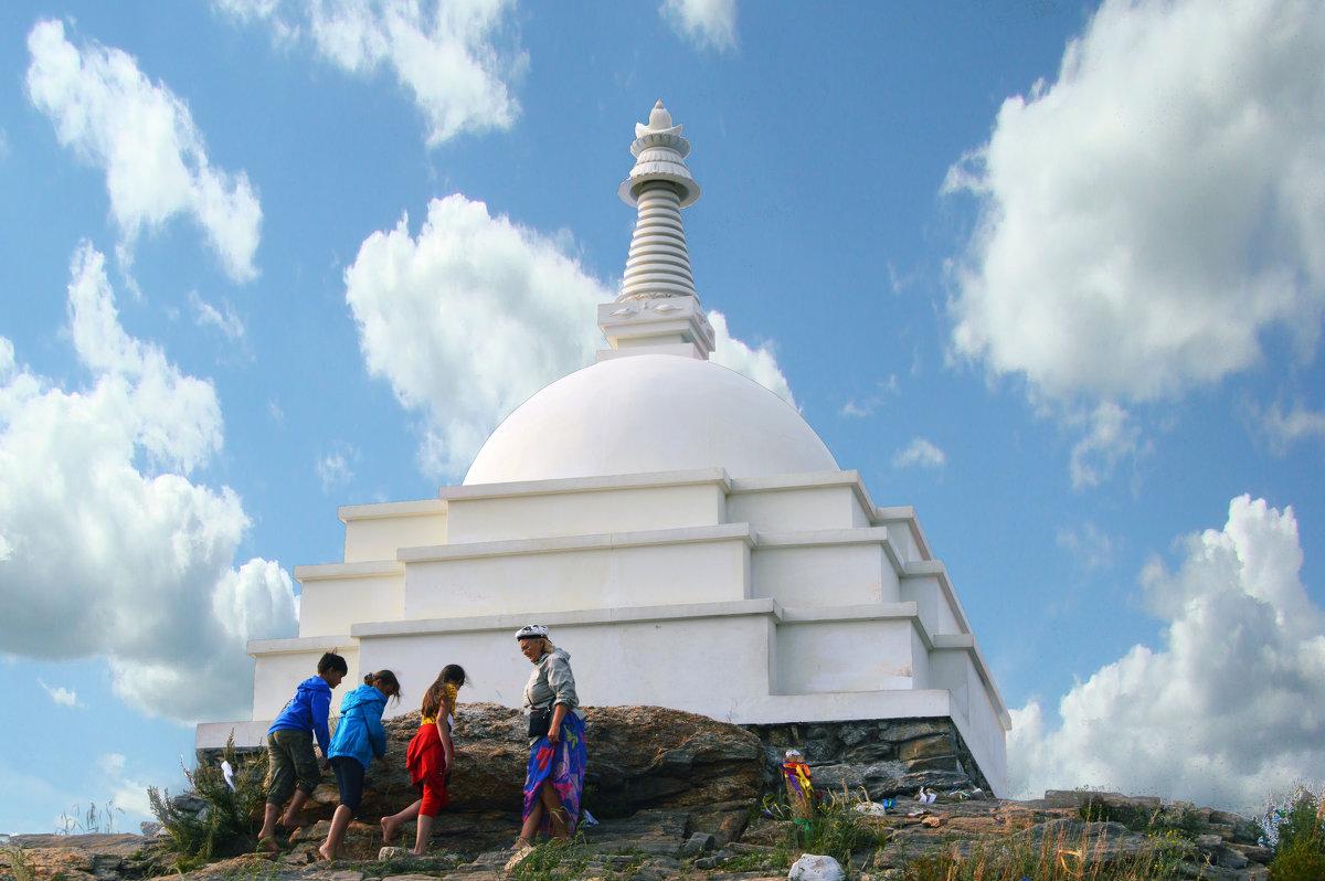 Буддийская ступа на Байкале - vladimir Egoshin