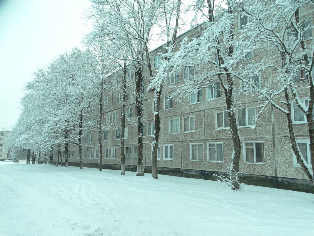 снежный город.. - Михаил Жуковский