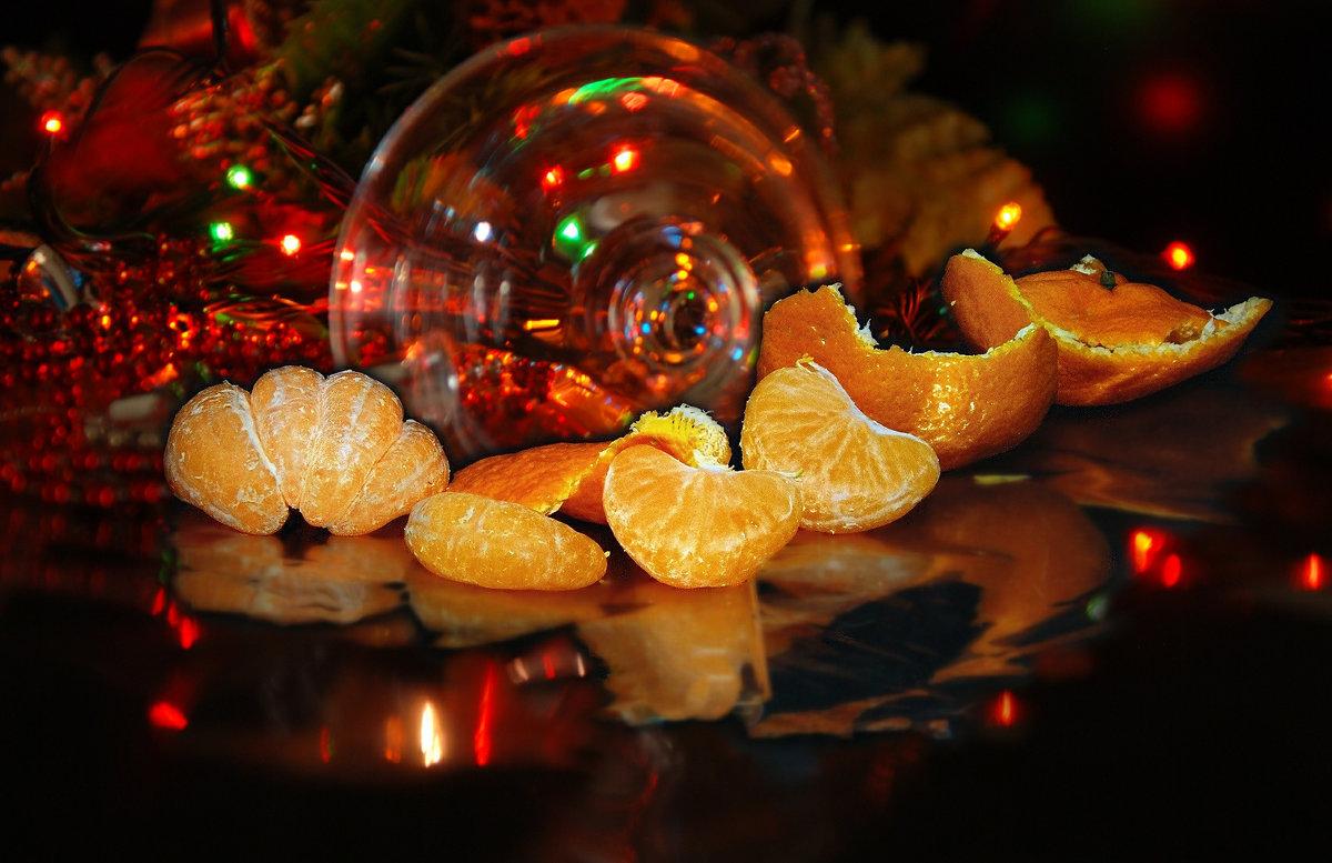 новогодний мандарин - Lena