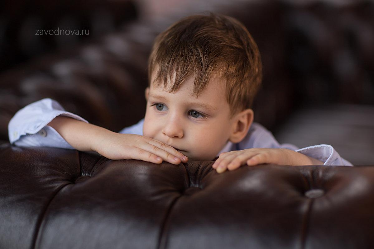 Детский портрет - Елена Заводнова