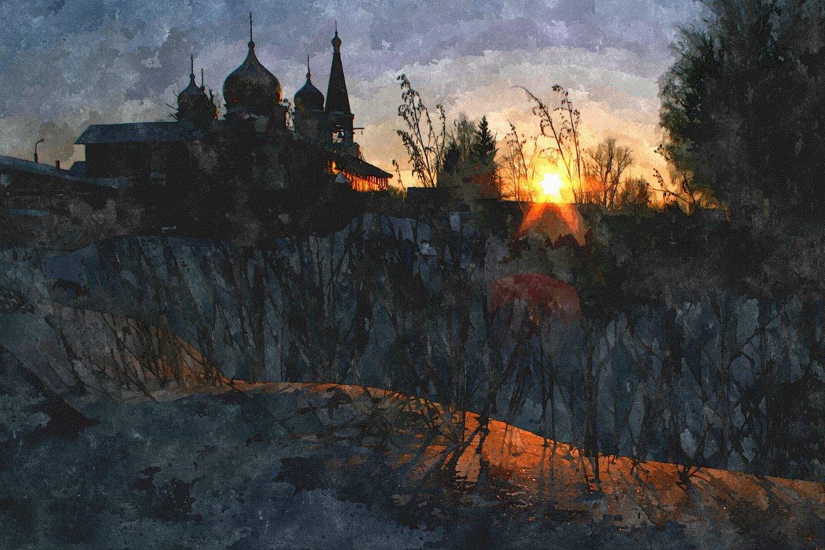 Крещенский закат - Евгений Юрков