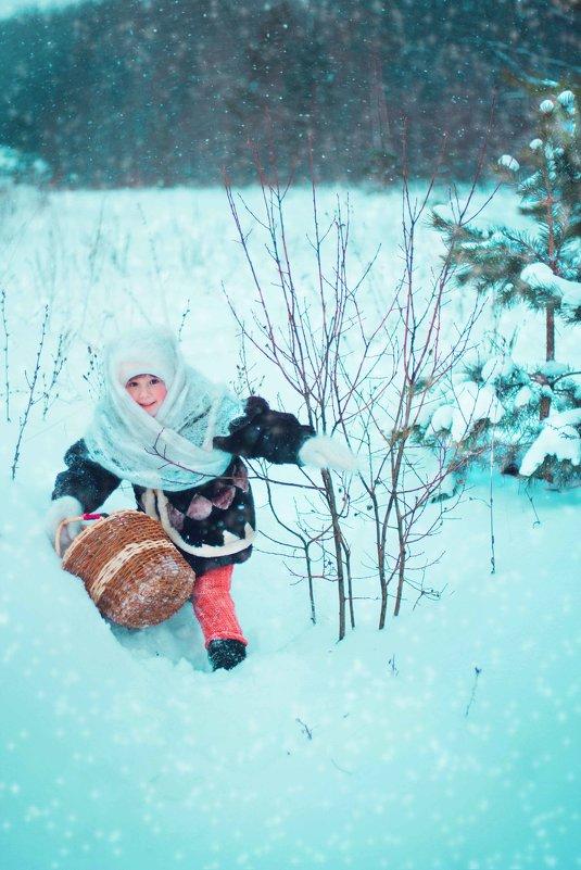 В лес за подснежниками - Евгения Черникова