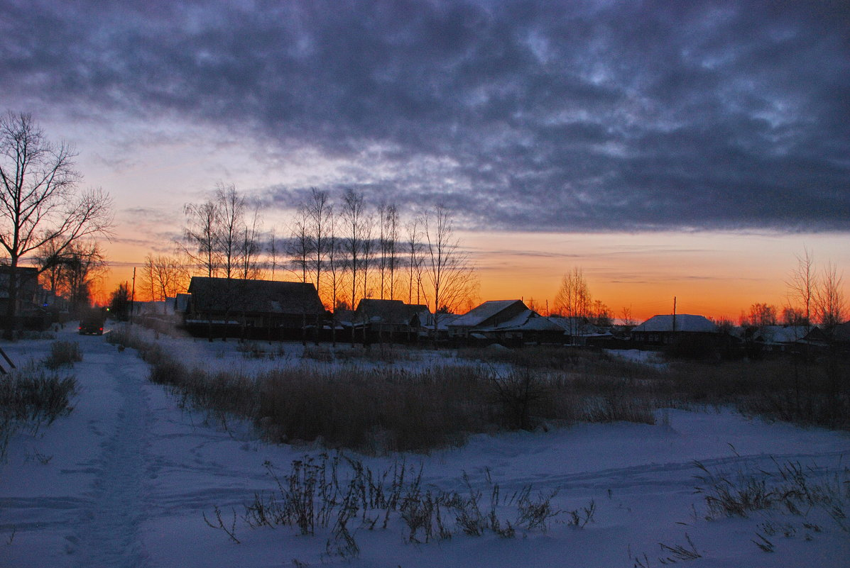 Зимний рассвет - Валерий Толмачев