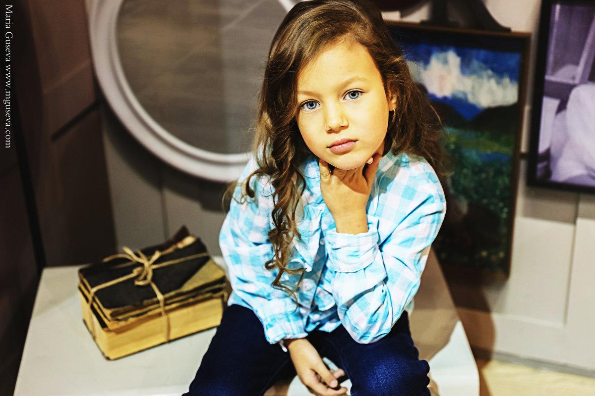 Юная модель - Мария Гусева