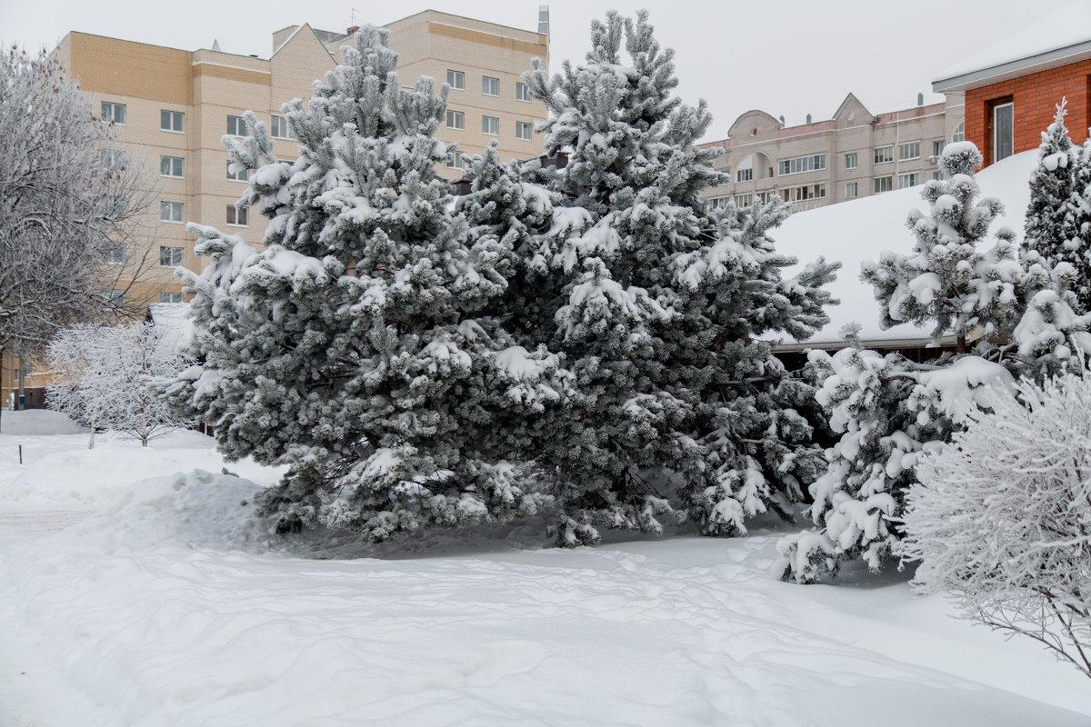 Городской пейзаж - Сергей Николаевич Бушмарин