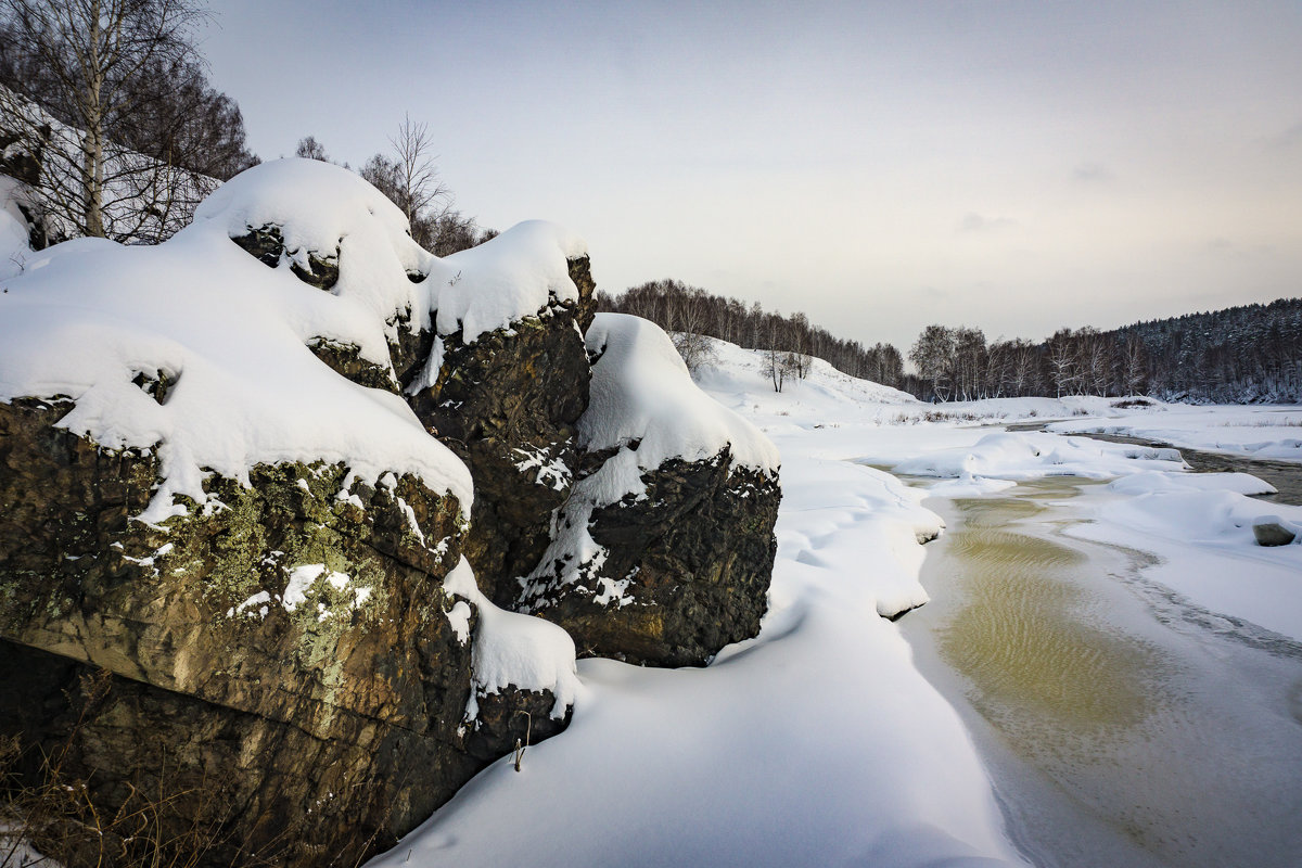 У порога Ревун деревня Бекленищево река Исеть. - Pavel Kravchenko