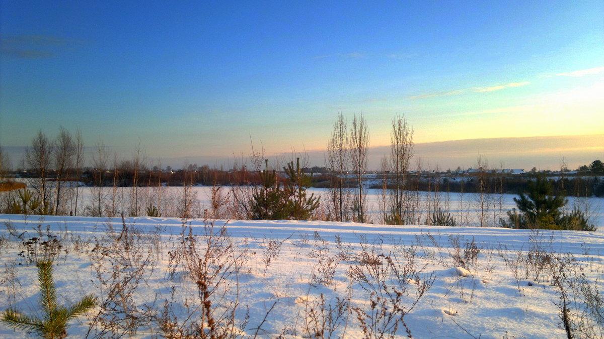 карьер зимой - Александр Прокудин