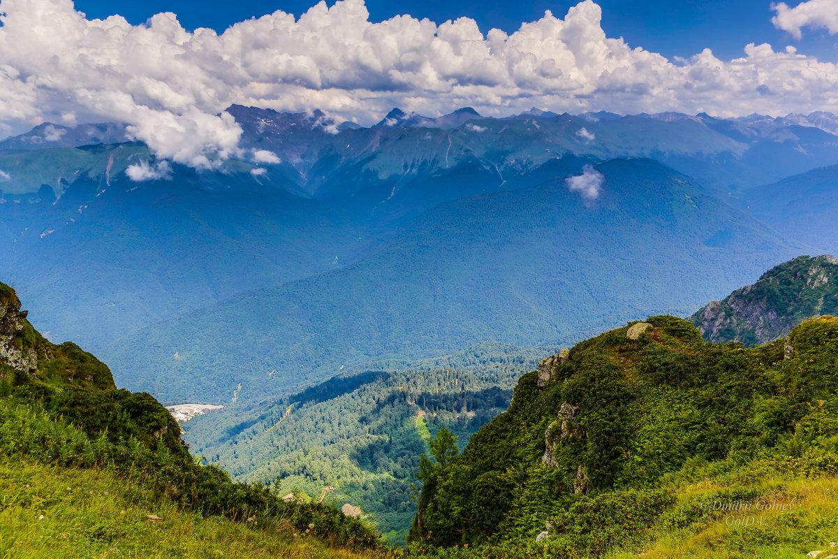 Кавказские горы - Дмитрий Гольнев