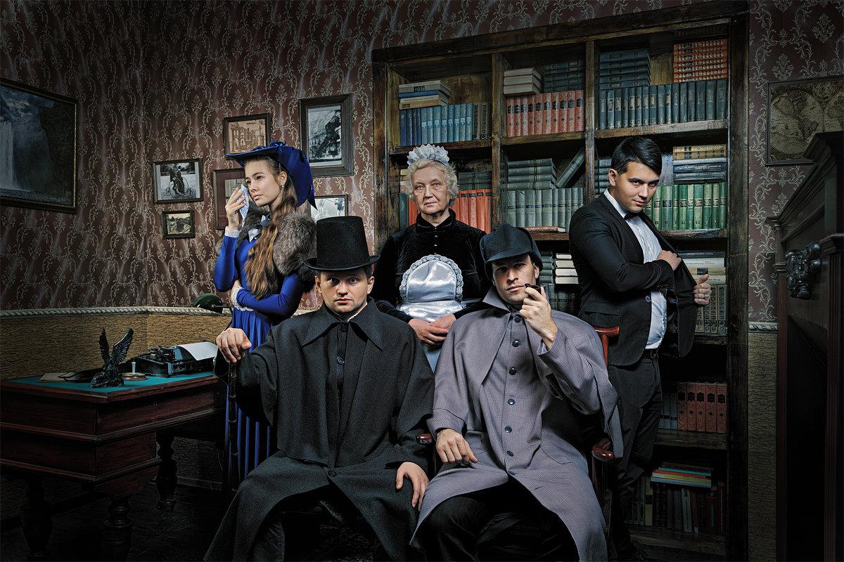 "Квест ""Шерлок Холмс"" постер - Алексей Ануфриев"