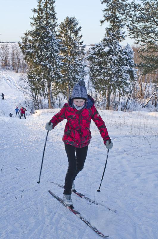 Школьники на лыжне 4 - Валерий Талашов