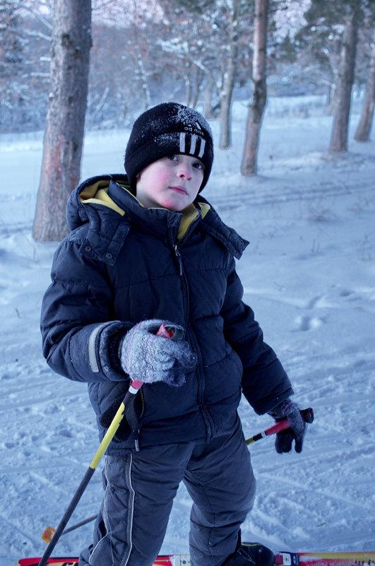 Школьники на лыжне 1 - Валерий Талашов