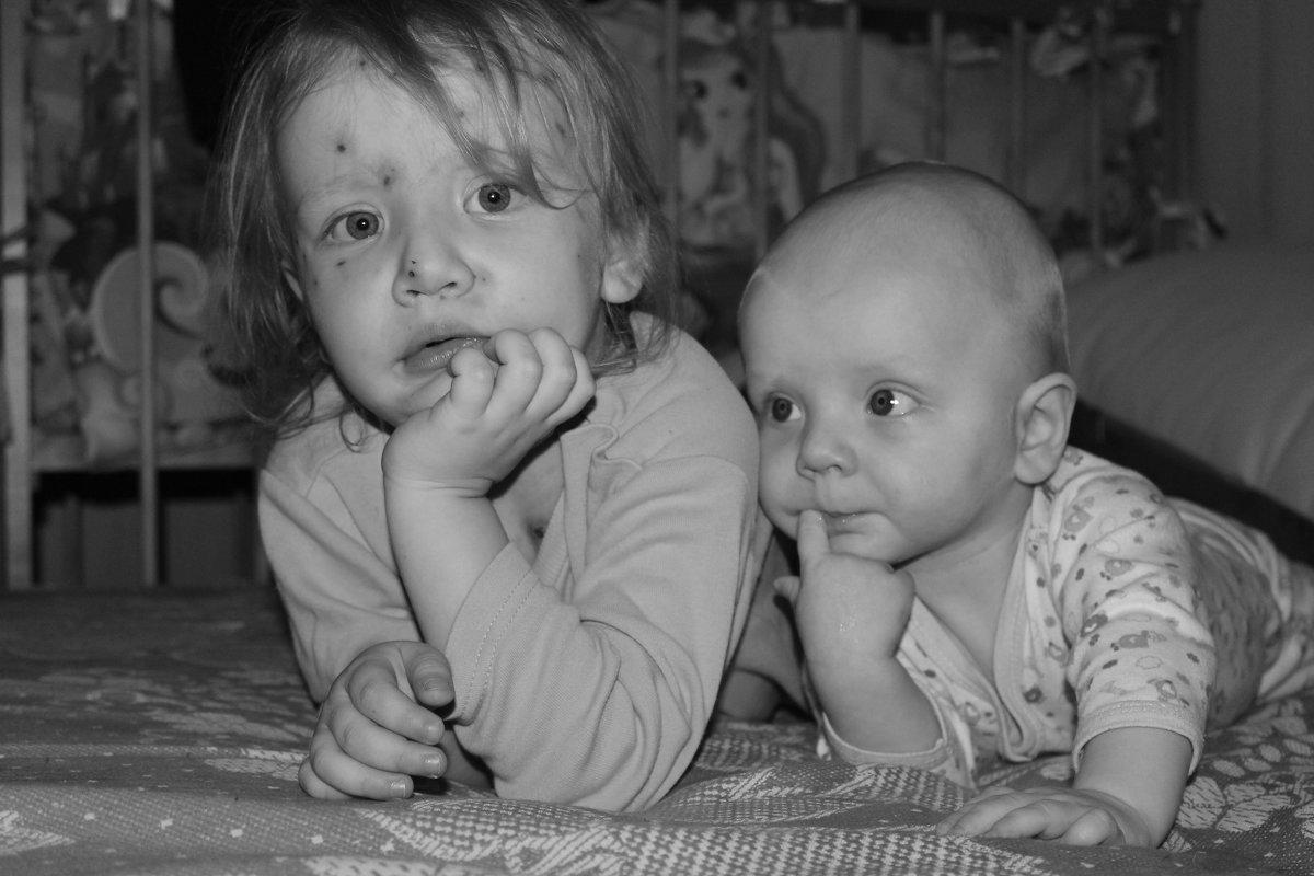 с сестрой - Ирина