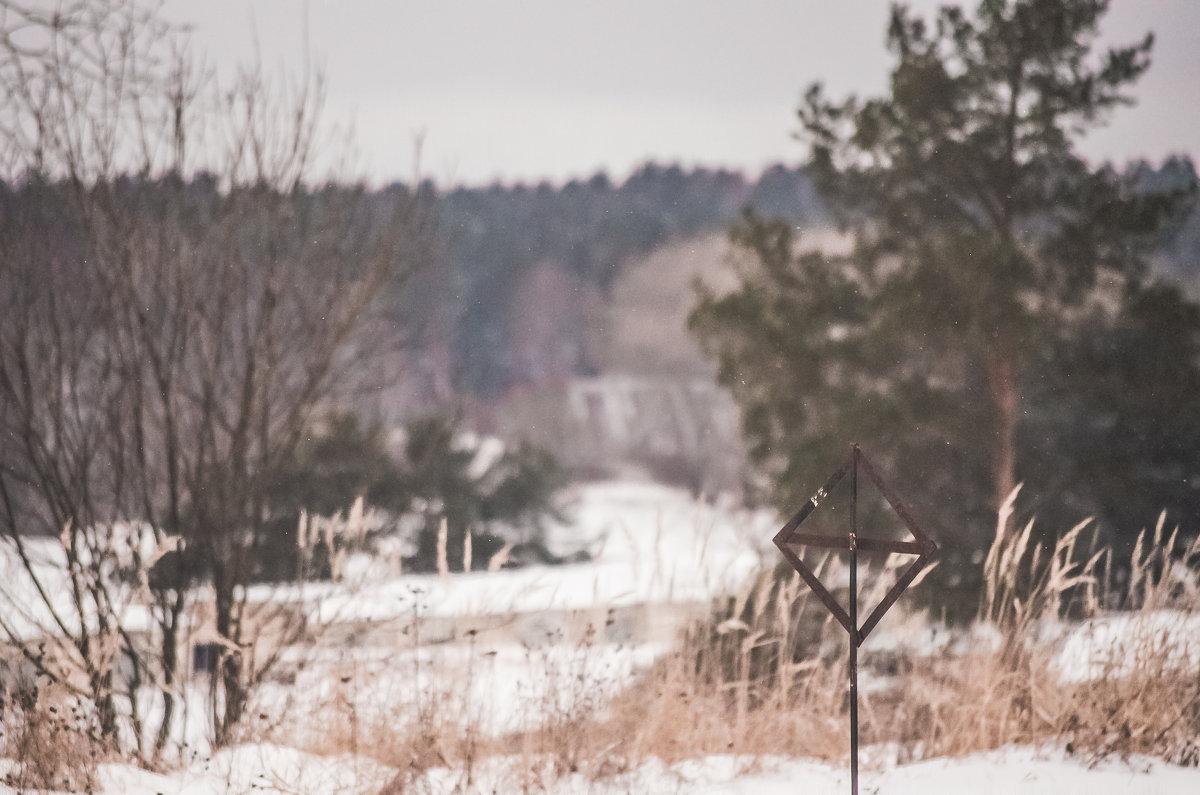 Зимний пейзаж - Дмитрий Коноплев