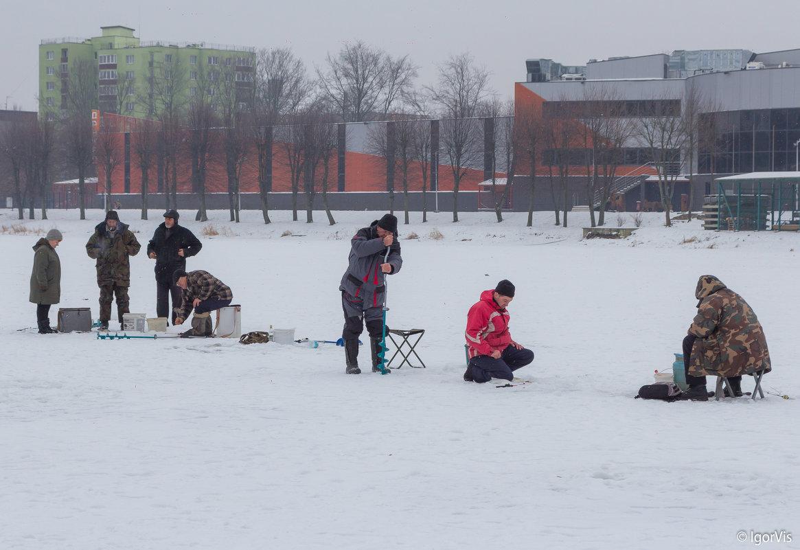Зимняя рыбалка - Игорь Вишняков