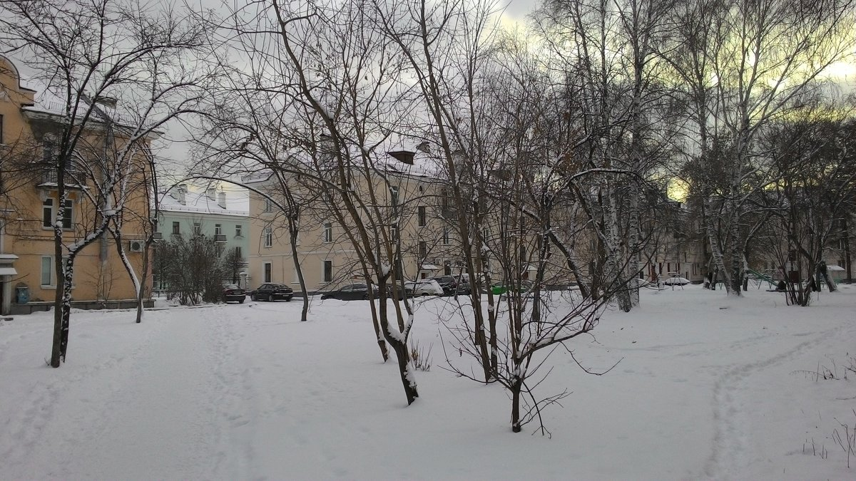 Старые дворики:) - Владимир Звягин