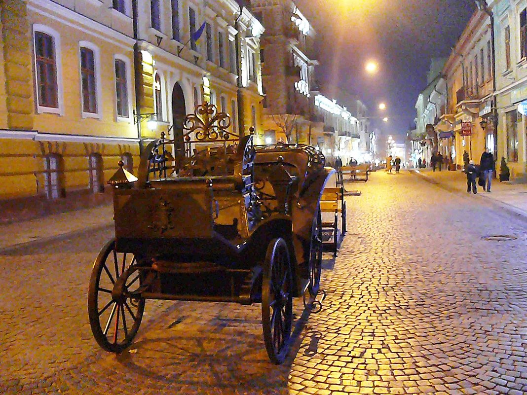 Вечірня вулиця - Степан Карачко