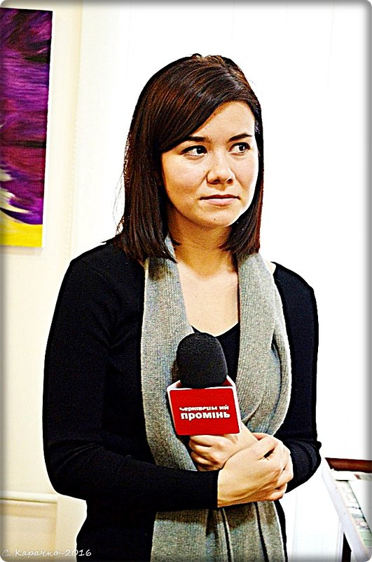 Юдя, журналістка - Степан Карачко