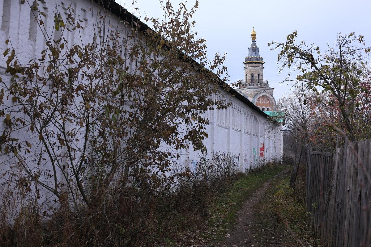 ...вдоль стены Монастыря... - MoskalenkoYP .