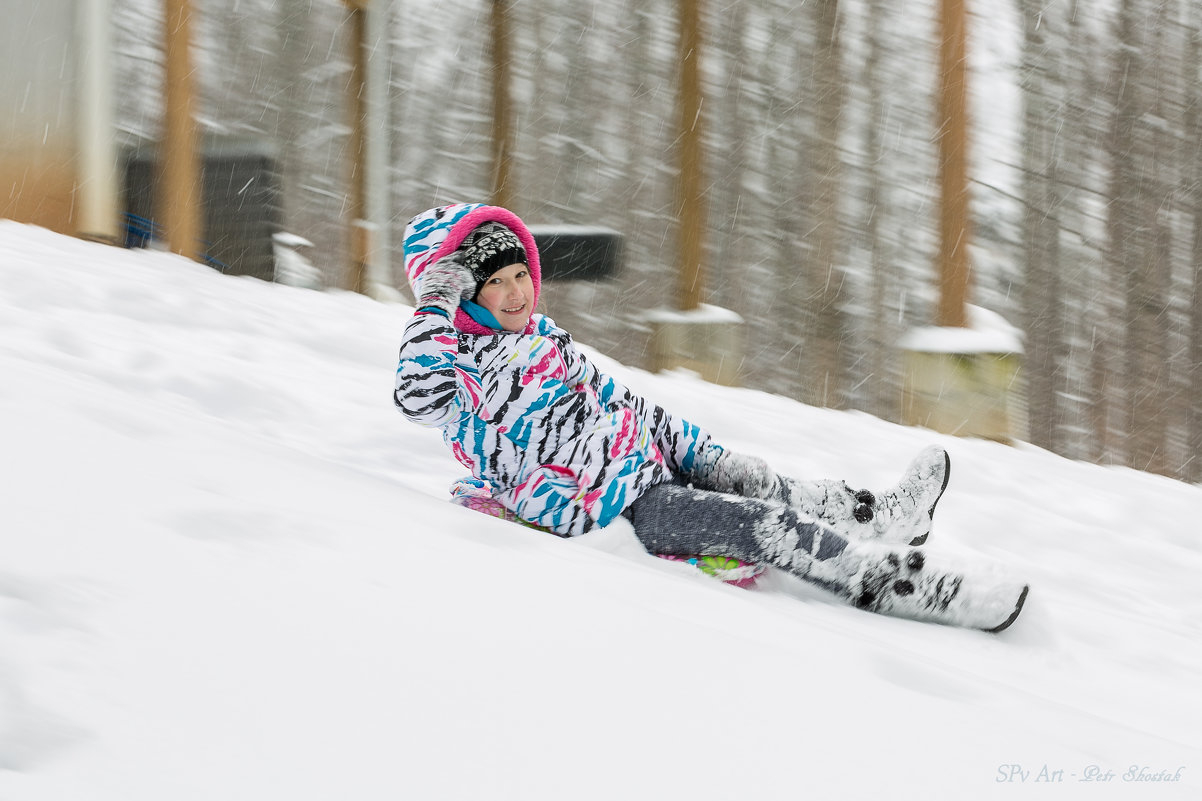 Скорость на снегу - Petr Shostak