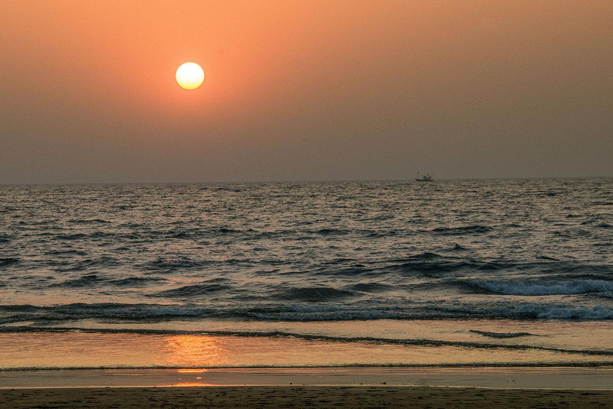 Индийский океан на закате - Виктор Куприянов