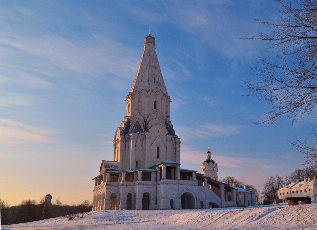 Коломенское. Церковь Вознесения . - Наталья Левина