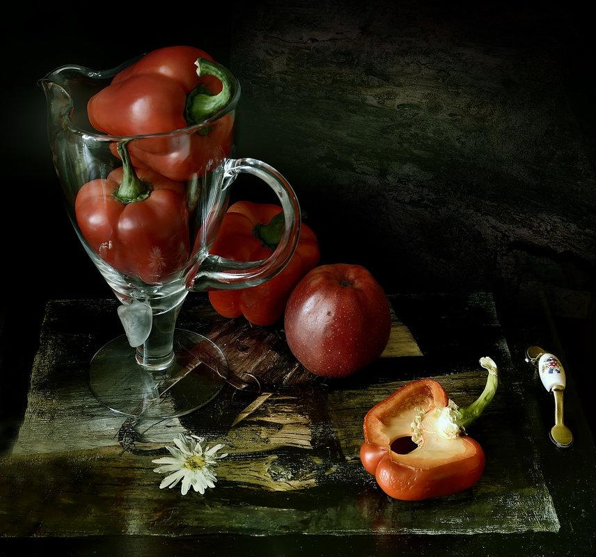 Перцы с яблоком. - Григорий Гурьев