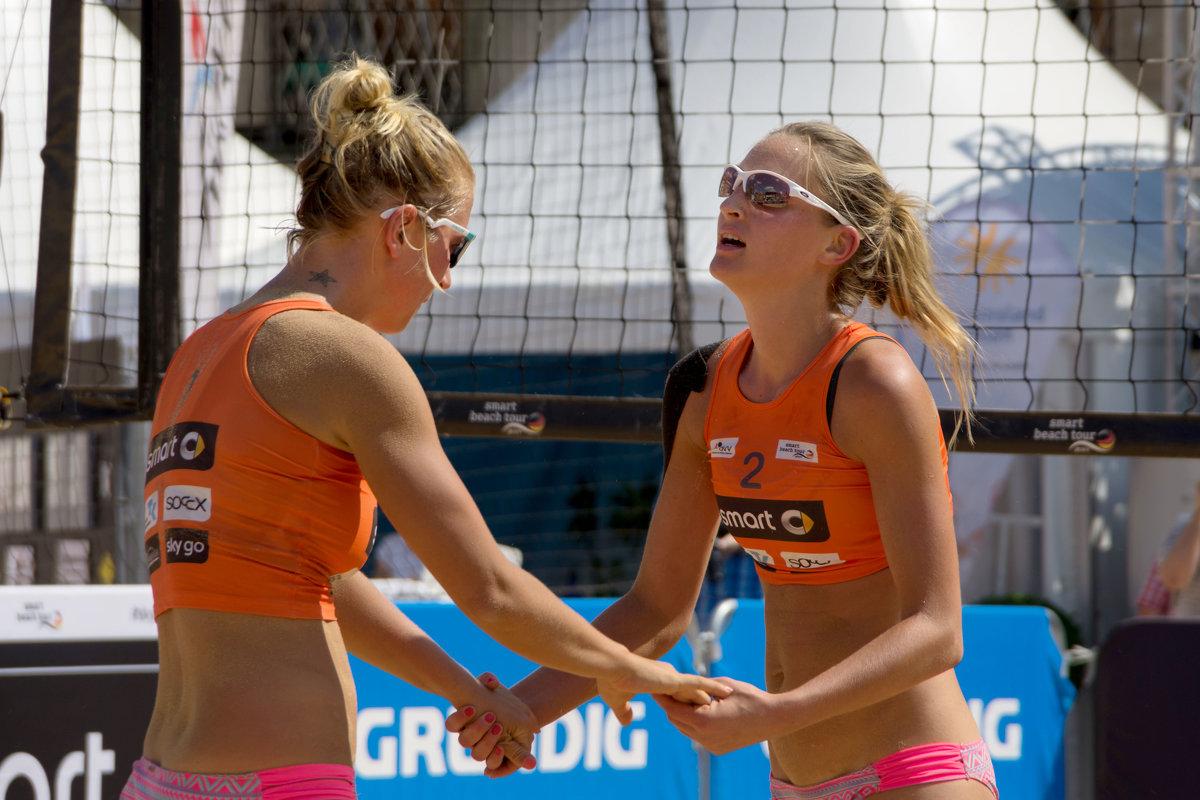 Пляжный волейбол в центре Нюрнберга #2 - Олег Неугодников