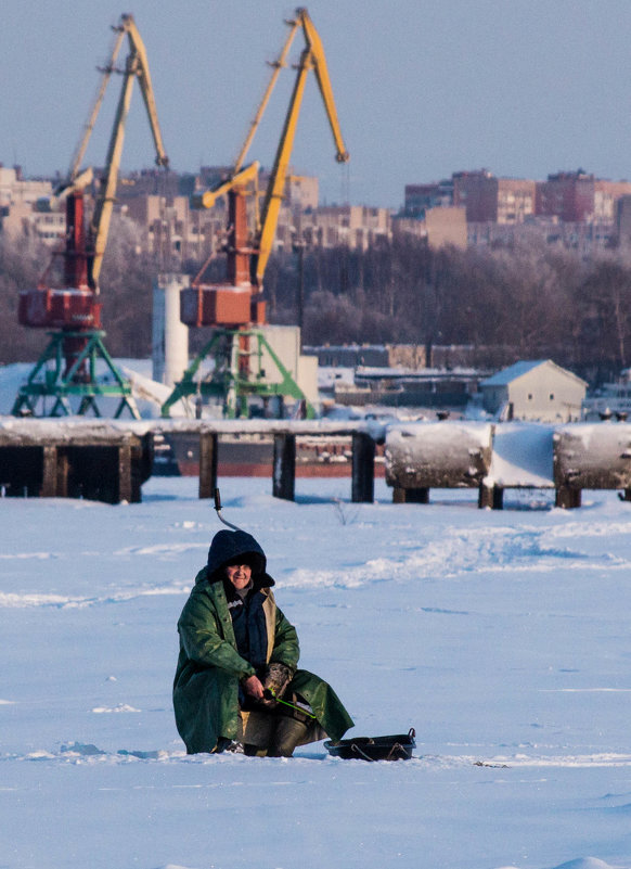Набросок на лыжной прогулке - Владимир Пименков