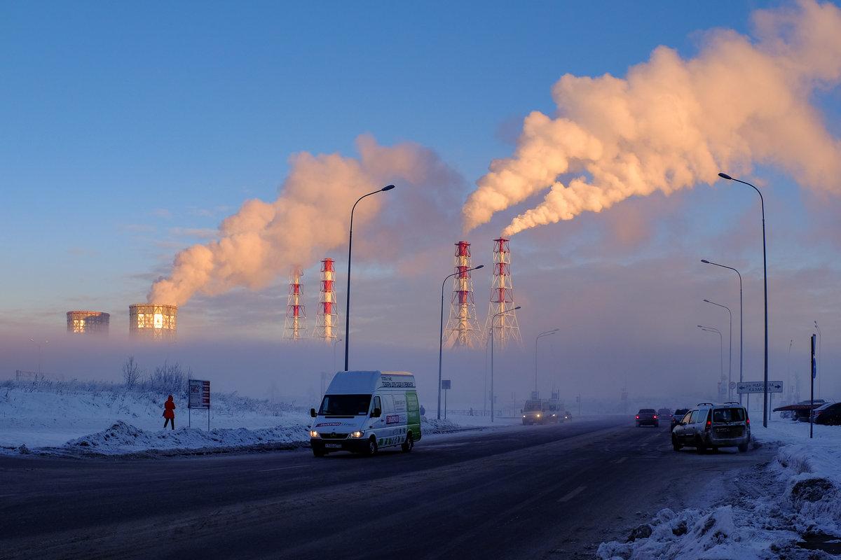 Морозное утро. - Vladimir Kraft