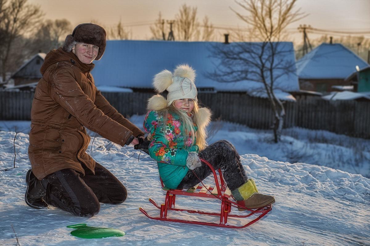 На старте - Сергей