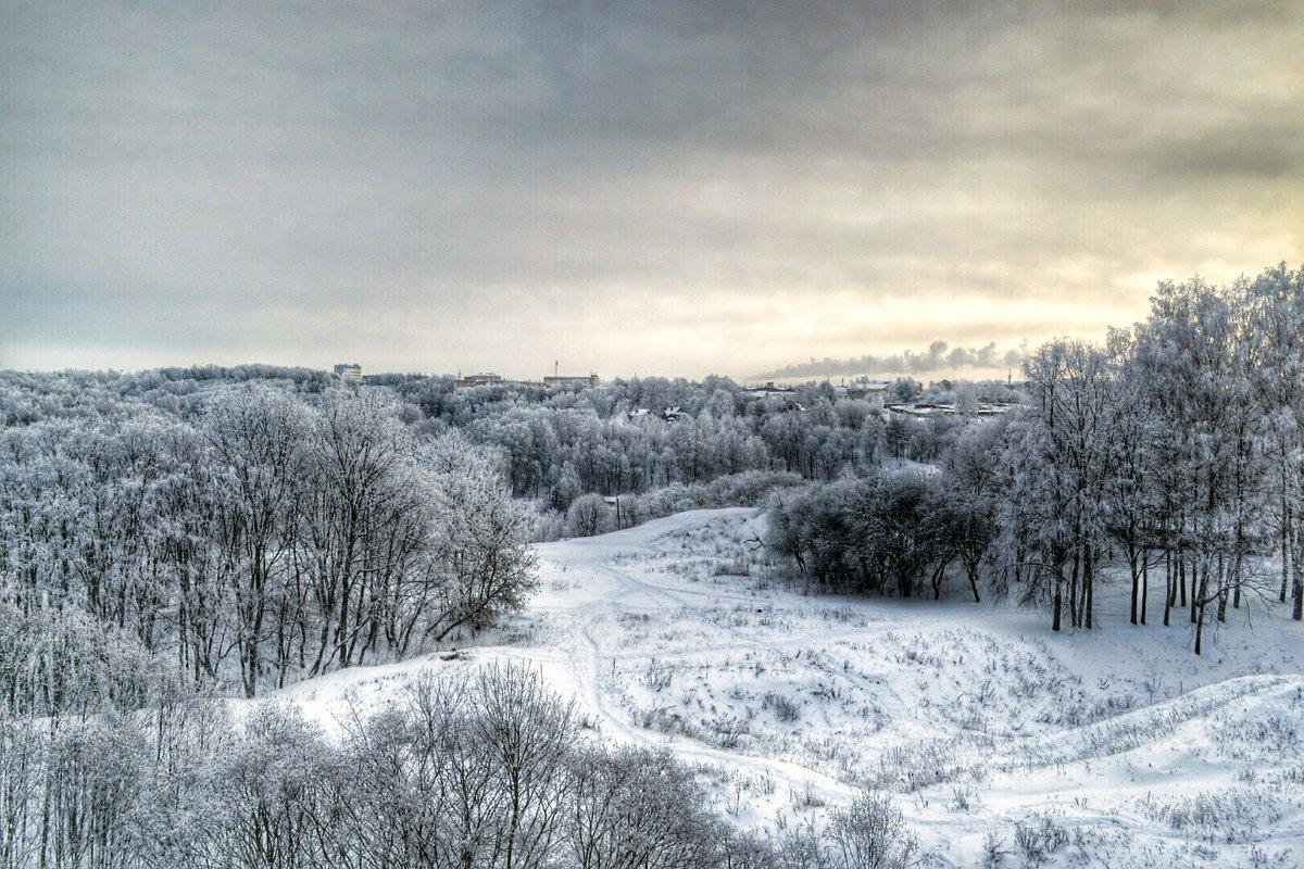 Морозным утром - Милешкин Владимир Алексеевич