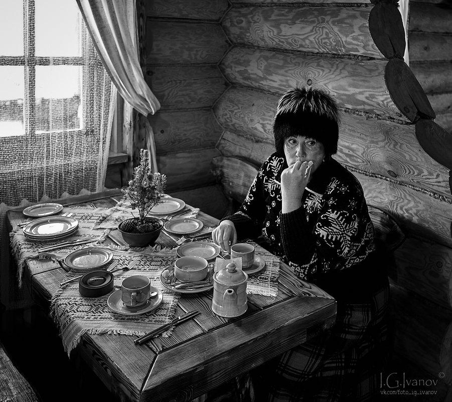 В кафе - Игорь Иванов