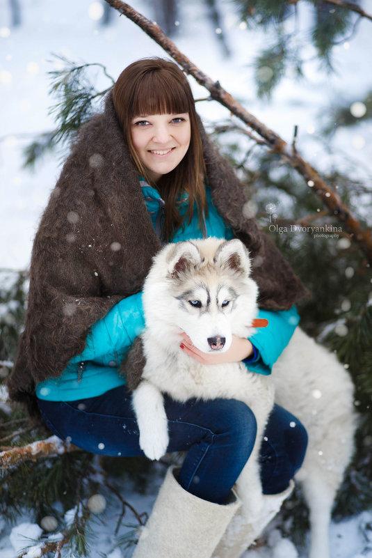 Фотосессии с Хаски - Ольга Дворянкина