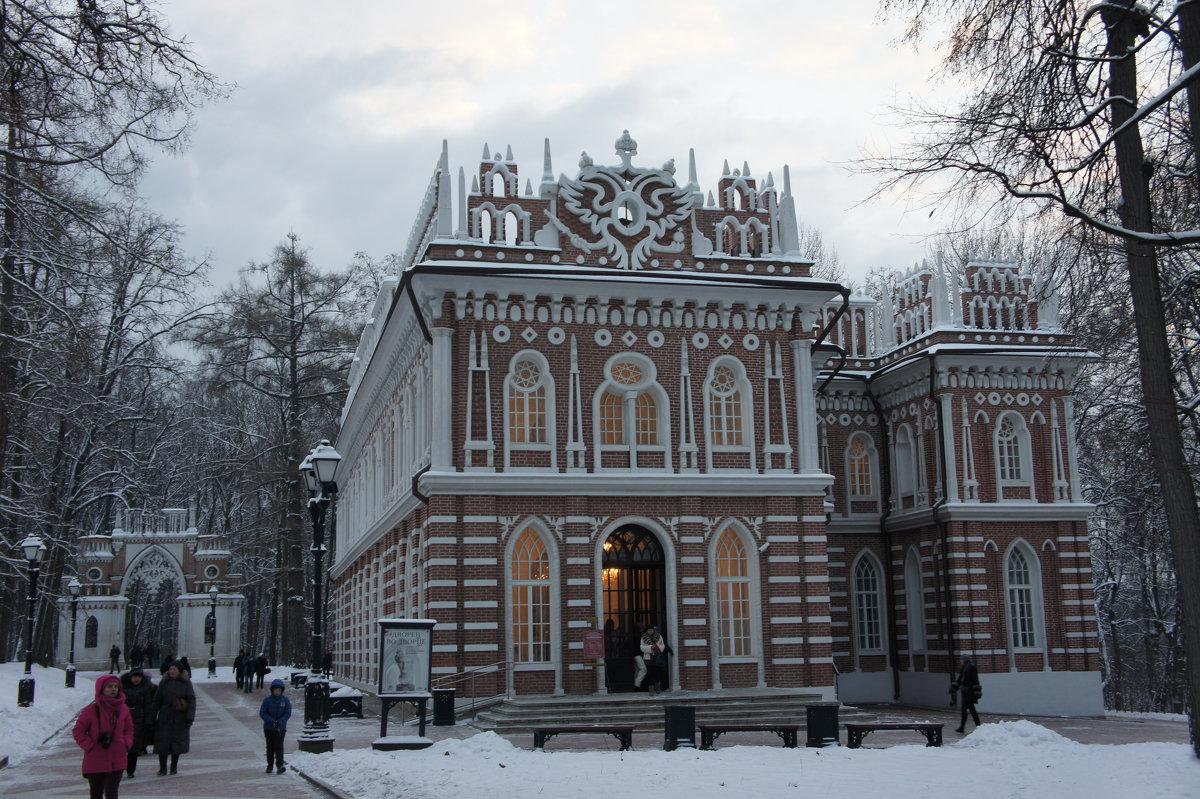 Средний дворец (Оперный Дом) и Фигурные ворота - Елена Павлова (Смолова)